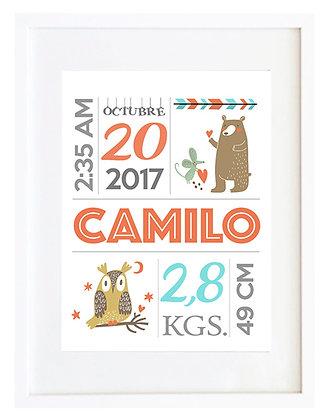 Personalizable nacimiento sandía y café / Desde 20.000