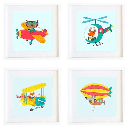 Aviones (4 diseños disponibles) / Desde 20.000 c/u