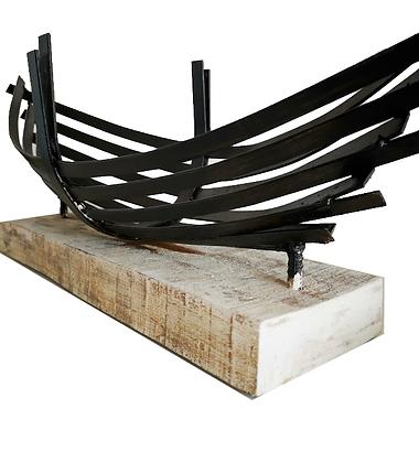 Escultura Bote Pucatrihue