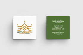 Logotipo Green Business