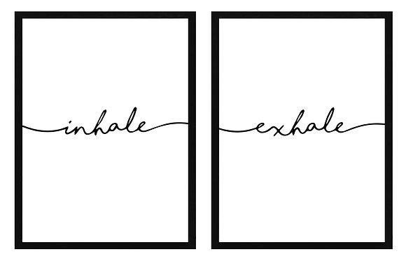 Inhale-Exhale / Desde 20.000 c/u