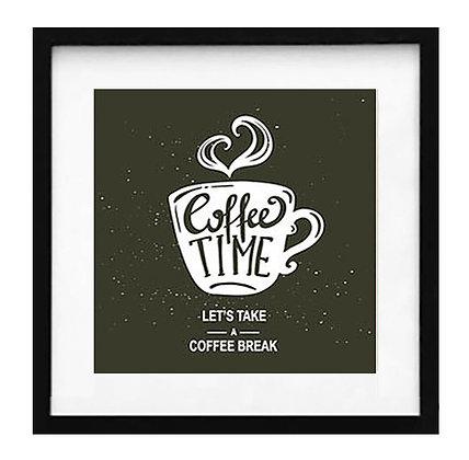 Lets take a coffee break negro / Desde 20.000
