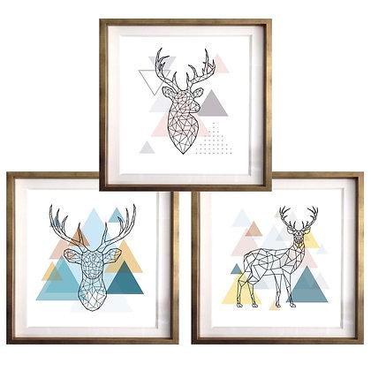 Venados nórdicos (3 diseños disponibles) / Desde 20.000 c/u