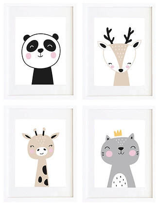 Animales nórdicos (7 diseños disponibles) / Desde 20.000 c/u