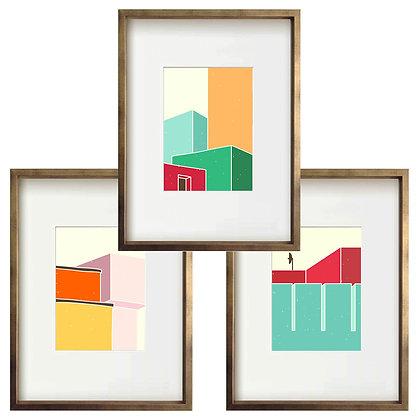 Arquitecturas (3 diseños disponibles) / Desde 35.000 c/u