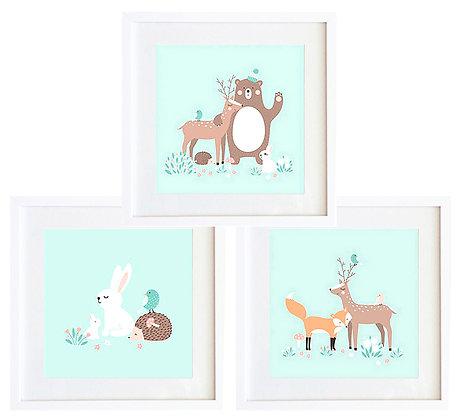 Animales pastel (3 diseños disponibles) / Desde 20.000 c/u