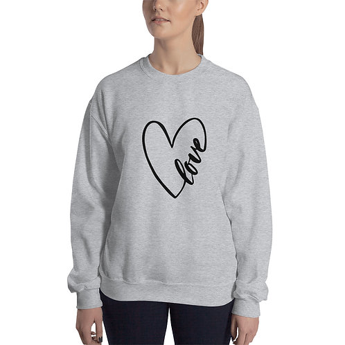 Polerón Love Corazón