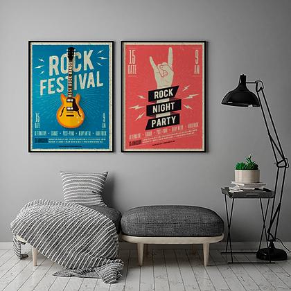 Rock  / Desde 20.000 c/u