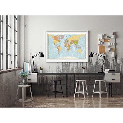 Mapa pineable clásico / Desde 75.000