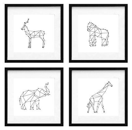 Animales constelación (9 diseños disponibles) / Desde 20.000 c/u