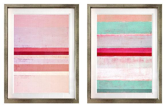 Abstracción pinturas rosa (2 diseños disponibles) / Desde 20.000 c/u