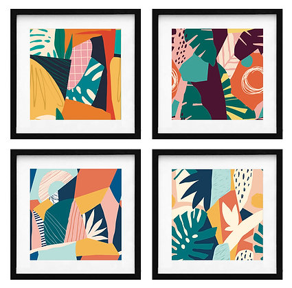 Abstracción tropical / Desde $20.000 c/u