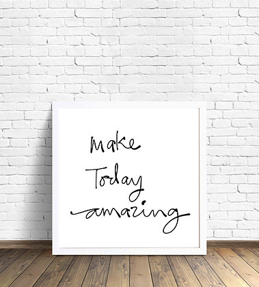 Make today amazing / Desde 20.000