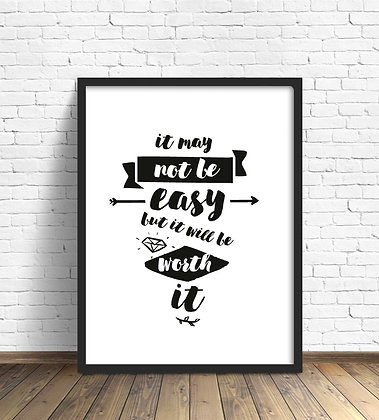 It may not be easy / Desde 20.000