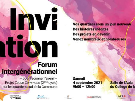 Cause Commune: 2ème édition du Forum