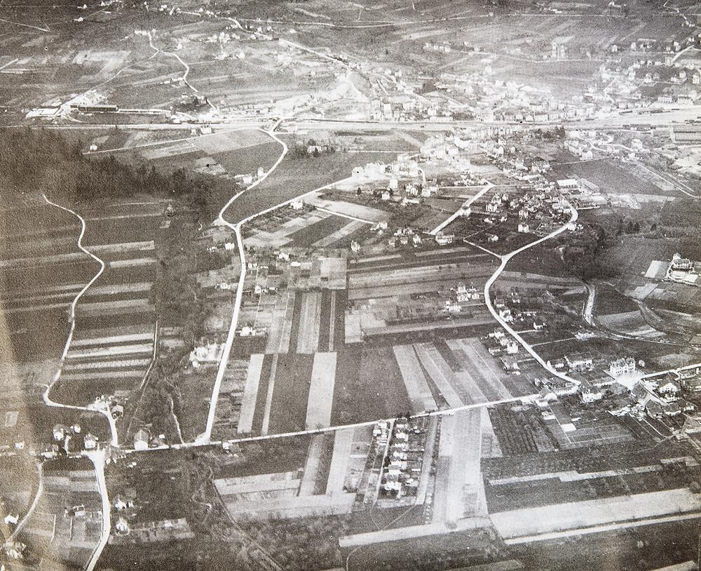 Vue aérienne de Chavannes-près-Renens