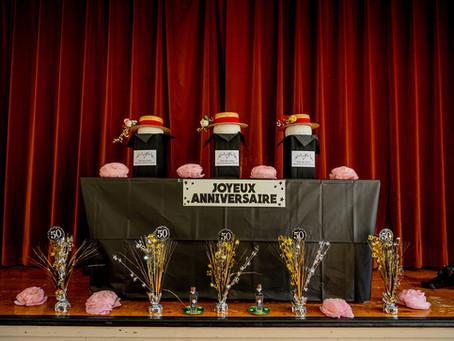 50 ans du Club des aînés: une fête étincelante