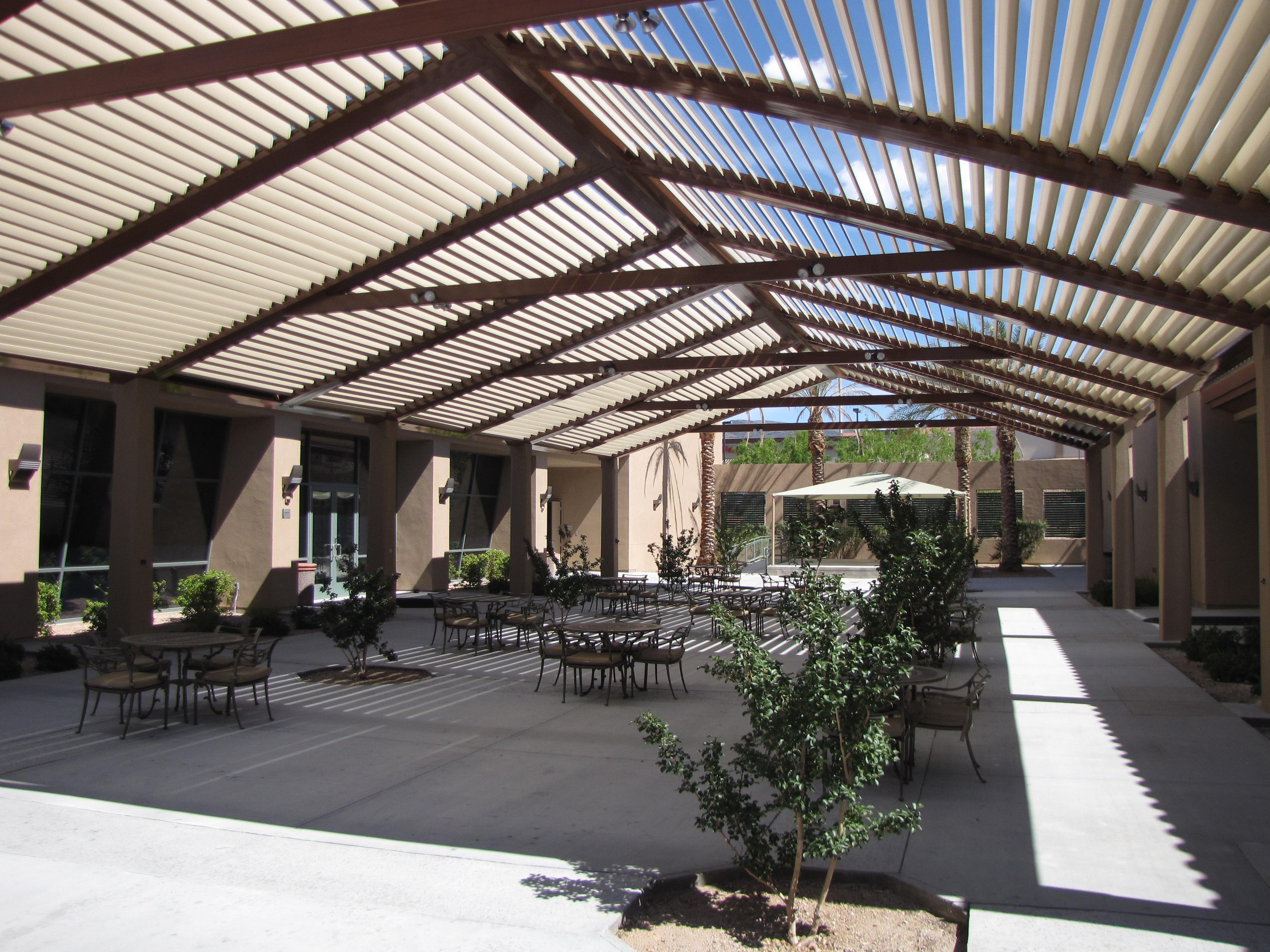 Courtyard [directional shade]