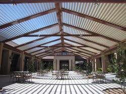 Courtyard [open roof]