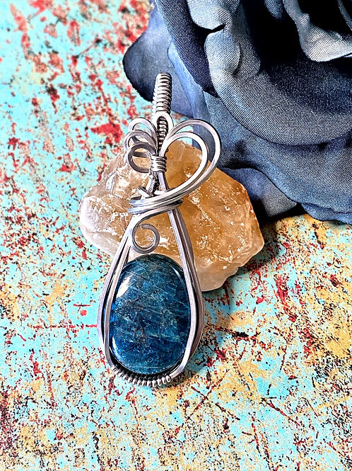 Apatite in Stainless Steel