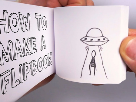 Flipbooks and Stop Motion - 'At Home Art' 8