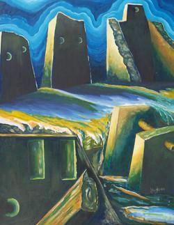 Joyce Hughes, Cobaly Monoliths