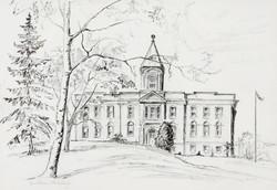 Muriel Newton-White, Haileybury Court House