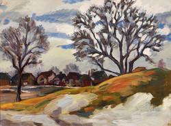 Muriel Newton-White, Untitles (Haileybury from Centennial Park