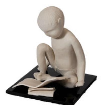 Bonnie Adam, Little Boy Reading
