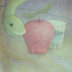 Doug Donley, Snake and Waterglass (Apple)