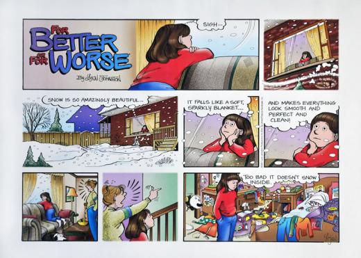 Lynn Johnston, For Better or For Worse Comic Strip, (#325)