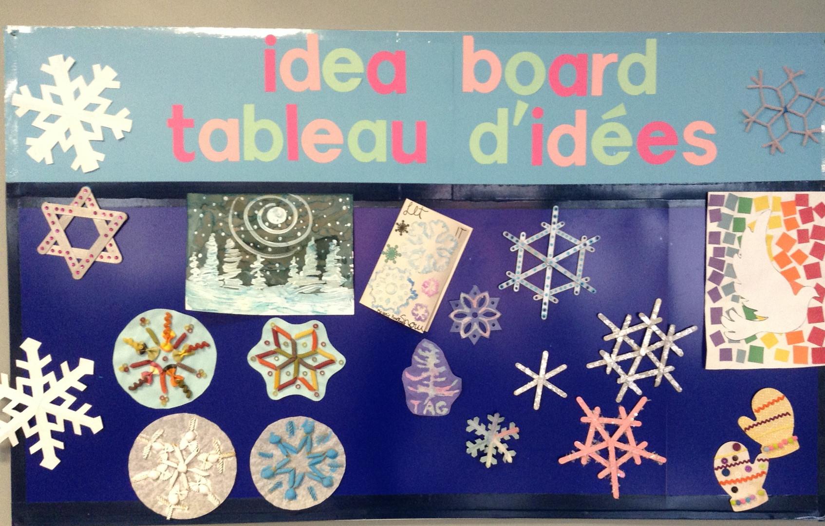 Idea Board//Tableau d'idées