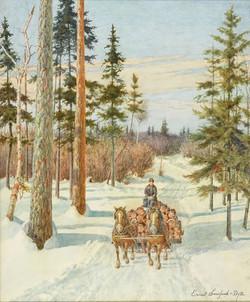 Ernest Sawford-Dye, A Trail at Kingston Lake