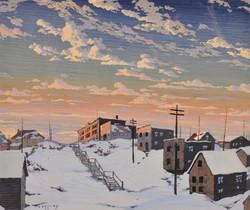 George Cassidy, Untitled (Prospect Avenue, Cobalt)