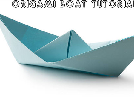 Origami Boat and Plains - 'At Home Art 10'