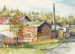 Joan Zageris, Lane in Virginiatown