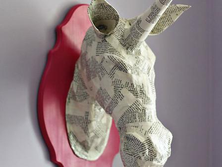 Paper-mache 'At Home Art 12'