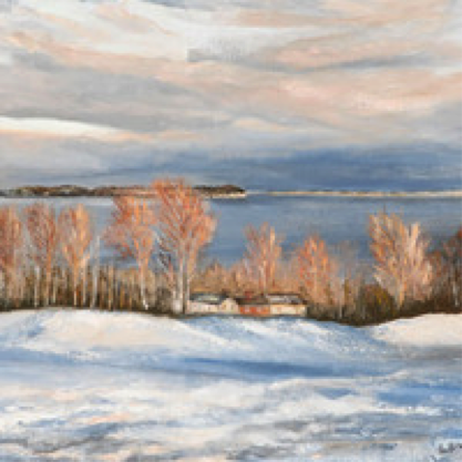 Ethel Brummell, Winter Scene, Haileybury Golf Course