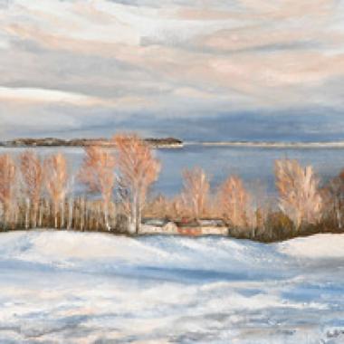 Winter Scene, Haileybury Golf Course