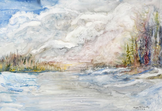Myra McCarthy, Spring Thaw, Montreal River