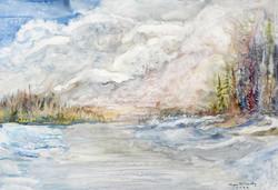 Myra McCarthy, Spring Thaw, Montreal River