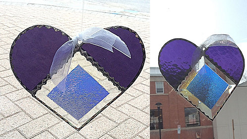 Stained Glass Heart Mother's Day bundle #2