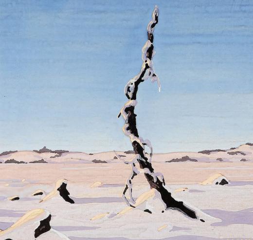 George Cassidy, Untitled (Tree-Sand)