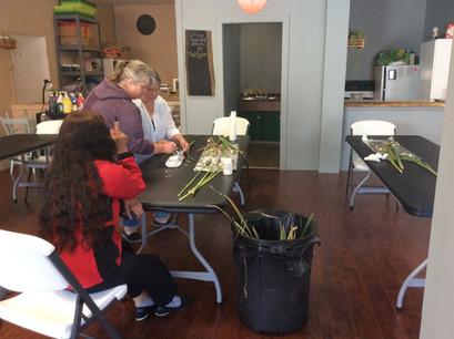 Saturday Morning Crafts//Soirée bricolage du samedi matin