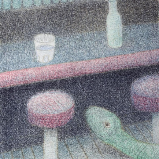 Doug Donley, Snake and Waterglass 11