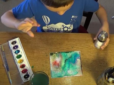 Saturday Morning Crafts - Watercolour