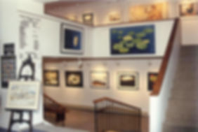 The art gallery at the Haileybury Library