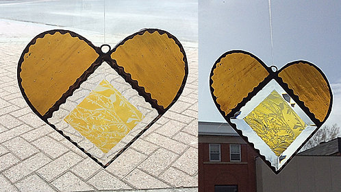 Stained Glass Heart Mother's Day bundle #4