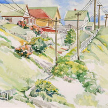 Linda Carney, Coleman, Alberta (Mining Town)