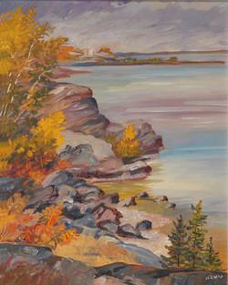 Muriel Newton-White, Untitled (Spring landscape)